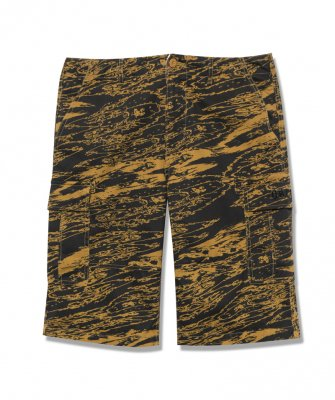 -Back Channel-GHOSTLION CAMO CARGO SHORTS