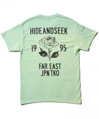 -Hide&Seek-  Rose S/S Tee