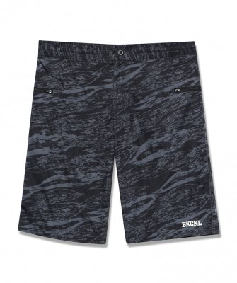 -BackChannel-GHOSTLION CAMO BOARD SHORTS (19SS)