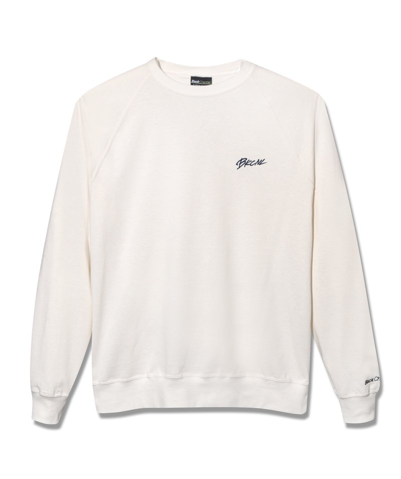 -BackChannel-RAGLAN CREW SWEAT