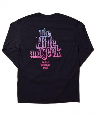 -Hide&Seek-  The H&S L/S Tee(Gradation)