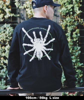 -Back Channel-SPIDER L/S T
