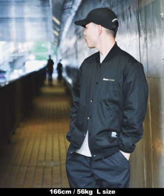 -Back Channel-COTTON STADIUM JACKET