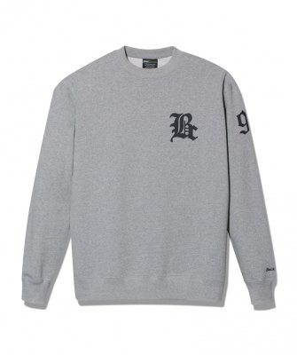 -Back Channel-WIDE CREW SWEAT