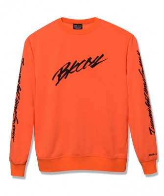 -BackChannel-  SLEEVE PRINT CREW SWEAT