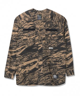 -BackChannel-GHOSTLION CAMO SCOUT SHIRT