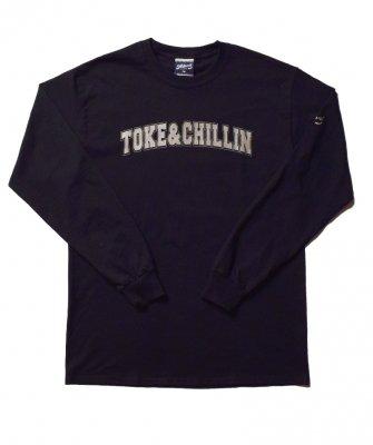 -PRILLMAL-  TOKE&CHILLIN`!!! : L/S T-SHIRTS