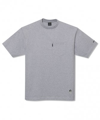 -Back Channel-ONE POINT POCKET T