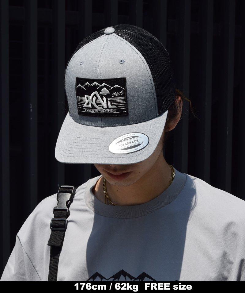 -Back Channel- Back Channel × Prillmal OUTDOOR LOGO MESH CAP