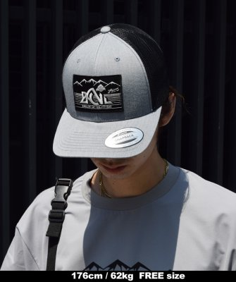 -Back Channel- Back Channel × Prillmal OUTDOOR LOGO MESH CAP