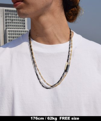 -Back Channel-CHAIN NECKLACE