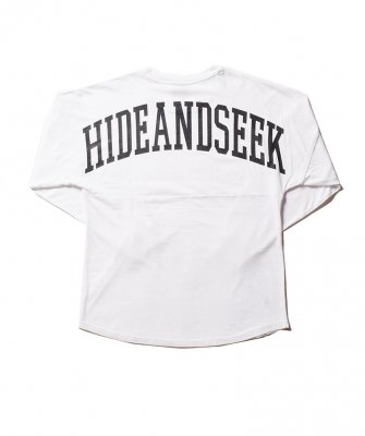-Hide&Seek-Drop Shoulder Long Sleeve Tee(20ss)
