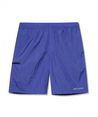 -Back Channel-OFFICIAL LOGO NYLON SHORTS