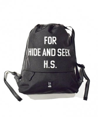 <img class='new_mark_img1' src='https://img.shop-pro.jp/img/new/icons14.gif' style='border:none;display:inline;margin:0px;padding:0px;width:auto;' />-Hide&Seek- HS × CHROME Gym Bag