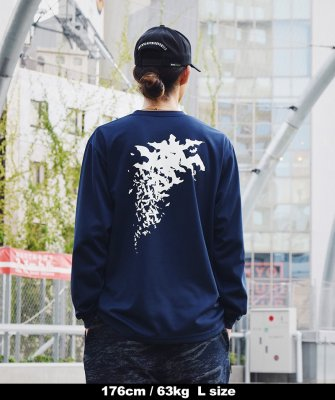 -Back Channel-DRY LONG SLEEVE T