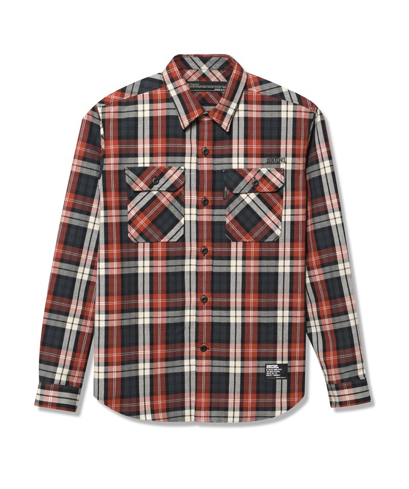 -Back Channel-CHECK WORK SHIRT