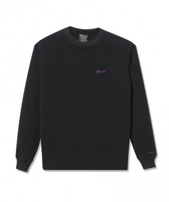 -Back Channel-FLEECE CREW SWEAT
