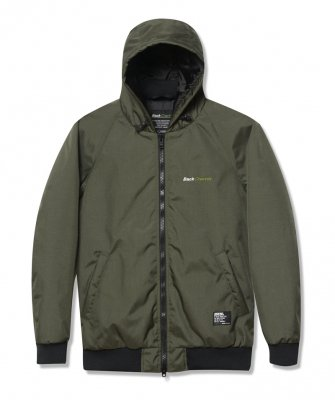 -Back Channel-CORDURA NYLON HOODED JACKET