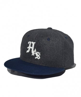 <img class='new_mark_img1' src='https://img.shop-pro.jp/img/new/icons50.gif' style='border:none;display:inline;margin:0px;padding:0px;width:auto;' />-Hide&Seek-HAS Wool Baseball CAP