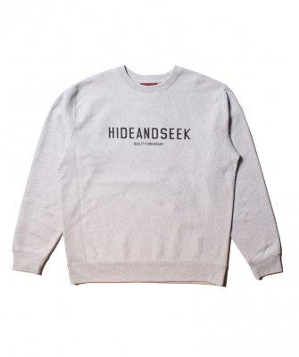-Hide&Seek-Logo Crewneck Sweatshirt(21ss)