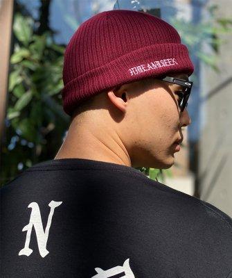 -Hide&Seek-Logo Knit CAP