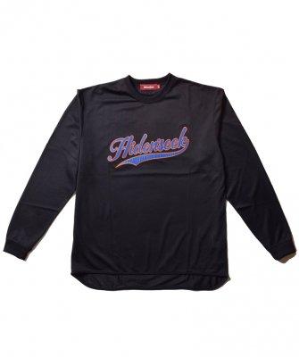 -Hide&Seek-Mesh Baseball L/S Shirt