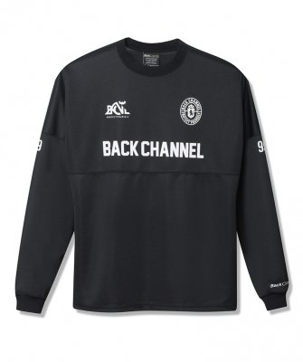 <img class='new_mark_img1' src='https://img.shop-pro.jp/img/new/icons50.gif' style='border:none;display:inline;margin:0px;padding:0px;width:auto;' />-Back Channel-WIDE MESH LONG SLEEVE T