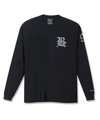 -Back Channel-COOL TOUCH LONG SLEEVE T