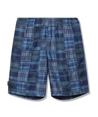 -Back Channel-PATCH WORK EASY SHORTS