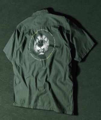 -Back Channel-BC LION HALF SLEEVE SHIRT