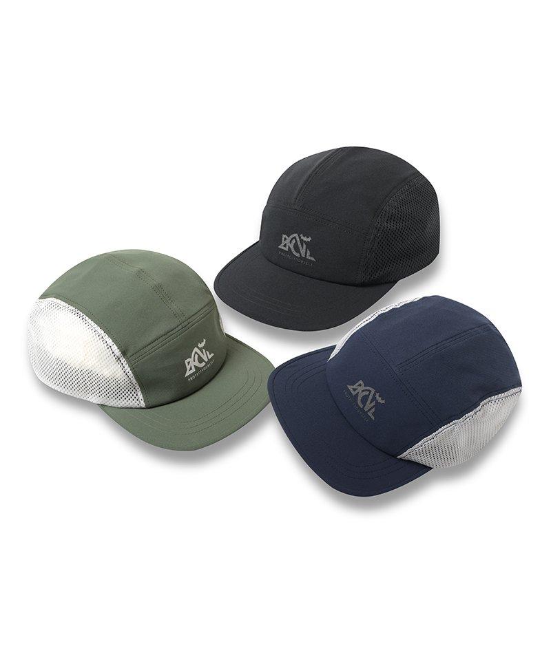 -Back Channel-MESH JET CAP