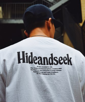 -Hide&Seek-Logo Pocket S/S Tee(21aw)
