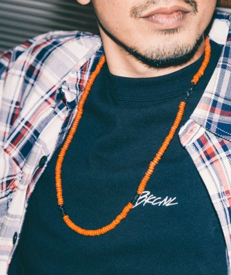 -Back Channel-BEADS NECKLACE
