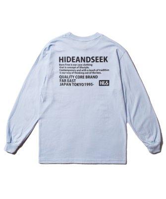 -Hide&Seek-Tag L/S Tee(21aw)