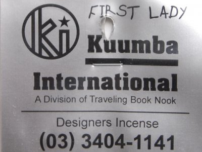 =-KUUMBA-INCENSE 「FIRST LADY」