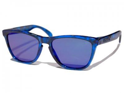 -OAKLEY-FROGSKINS (Acid Tortoise Blue+Blue Iridium)