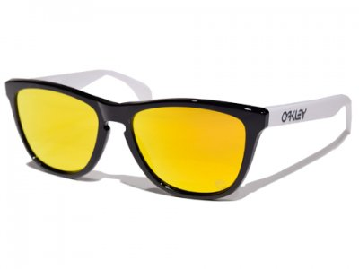 -OAKLEY-FROGSKINS HERITAGE COLLECTION (Black+Fire Iridium)