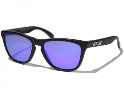 <img class='new_mark_img1' src='https://img.shop-pro.jp/img/new/icons50.gif' style='border:none;display:inline;margin:0px;padding:0px;width:auto;' />-OAKLEY-FROGSKINS (Matte Black + Violet Iridium)