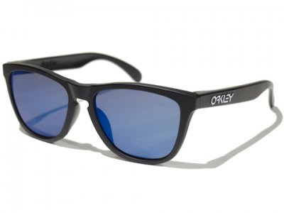 -OAKLEY-FROGSKINS (Matte Black +Ice Iridium)