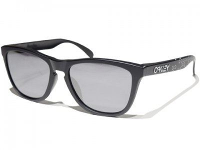 =-OAKLEY-FROGSKINS B1B COLLECTION(Matte BLACK /BLACK Iridium)