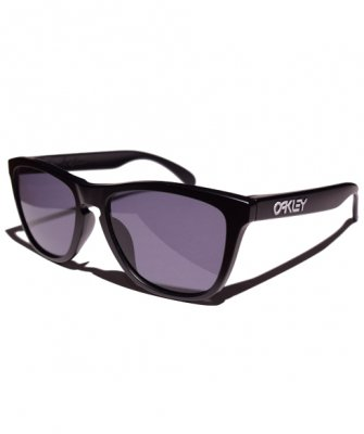 -OAKLEY-FROGSKINS CUSTOM (Matte Black + GREY)