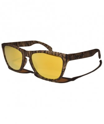 -OAKLEY-FROGSKINS URBAN JUNGLE COLLECTION(Matte Sepia Urban Jungle + 24k Iridium)