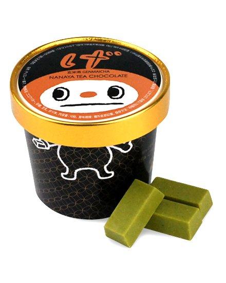 黒カップチョコ 玄米茶