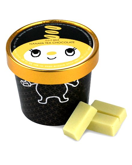 黒カップチョコ ミルク