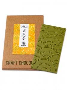 クラフトチョコタブレット 玄米茶