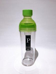 フィルターインボトル ポータブル400ml (ライトグリーン)