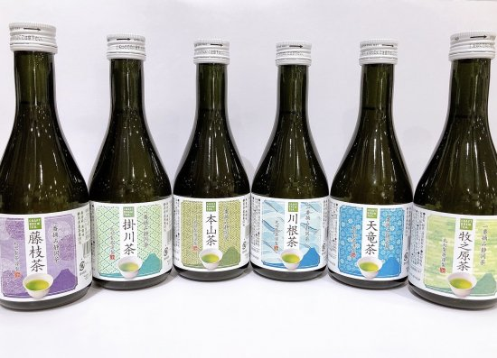 CRAFT BREW TEA 一番摘み静岡茶6種のセット(黒ボトル)