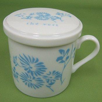 オリジナルデミタスカップ草ブルー