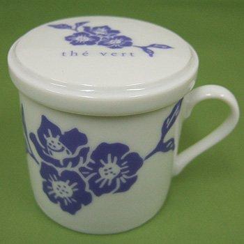 オリジナルデミタスカップ花紫
