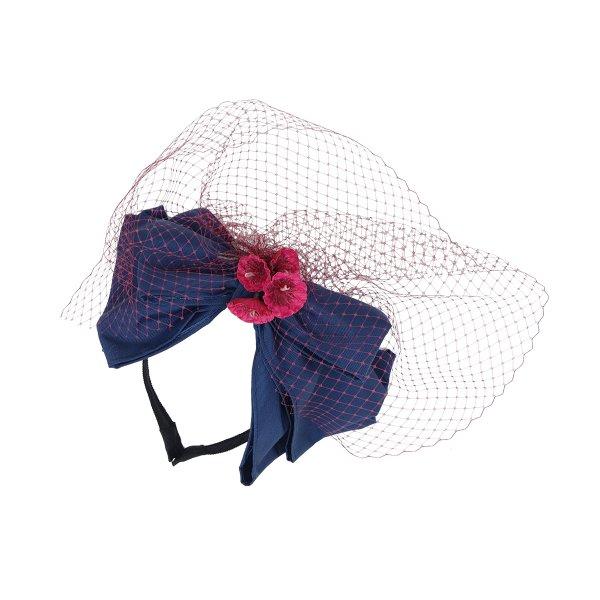 フラワーカップヘッドドレス